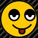 emoticon, emoji, expression, face, smiley