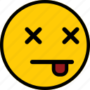 emoji, emoticon, expression, mad, sad icon