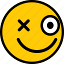 emoji, emoticon, expression, happy, smiley icon
