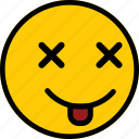 emoticon, emoji, expression, sad, smiley