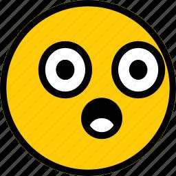 emoji, emoticon, expression, sad, smiley icon