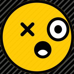 emoji, emoticon, expression, face, smile icon