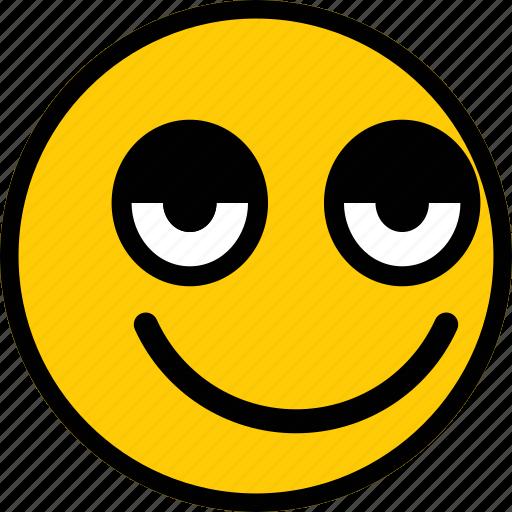 emoji, emoticon, expression, happy, smiley icon