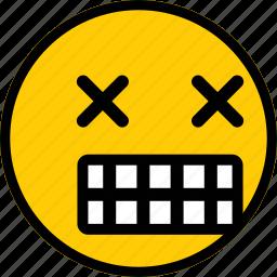 emoji, emoticon, expression, smiley icon