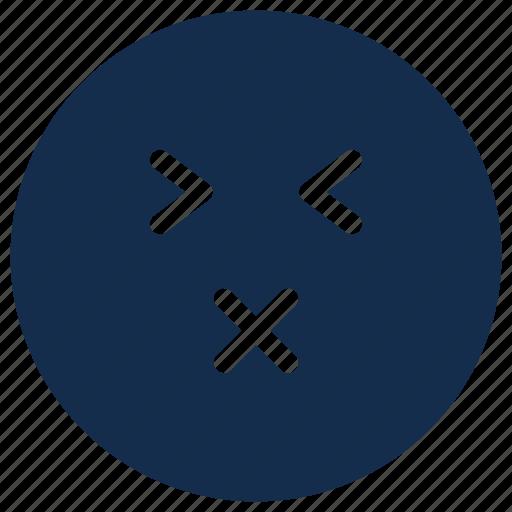 acid, emoji, emoticon, emotion, sour icon