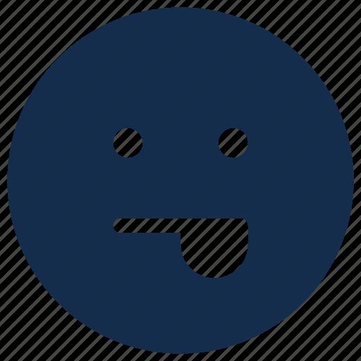 emoji, emoticon, emotion, tongue icon