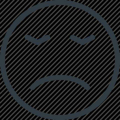 emoji, emote, emoticon, emoticons, huffish icon