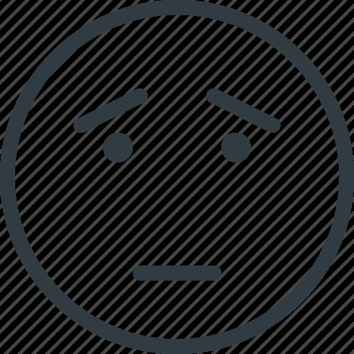emoji, emote, emoticon, emoticons, scared icon