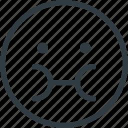 emoji, emote, emoticon, emoticons, sick icon