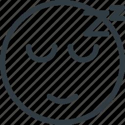 emoji, emote, emoticon, emoticons, sleeping icon