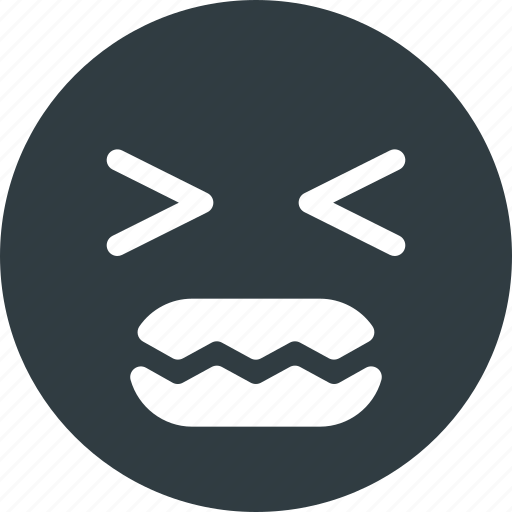 angry, emoji, emote, emoticon, emoticons icon