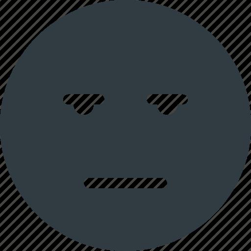 bored, emoji, emote, emoticon, emoticons icon