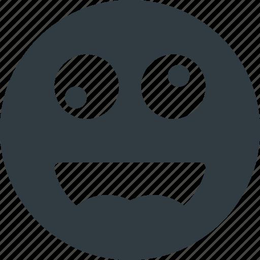 crazy, emoji, emote, emoticon, emoticons icon