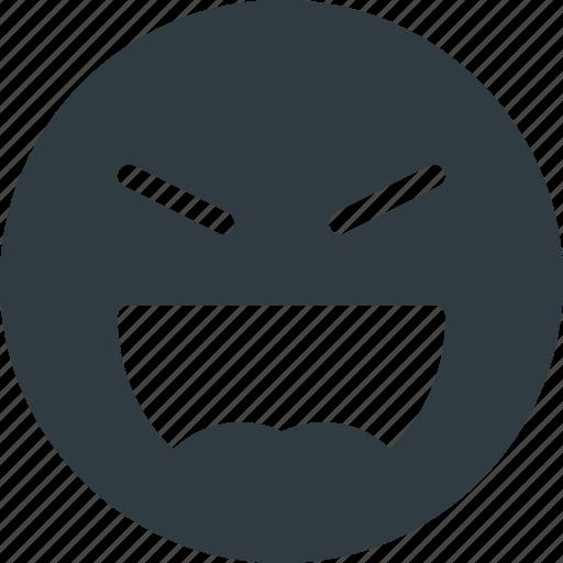 emoji, emote, emoticon, emoticons, evil, laugh icon