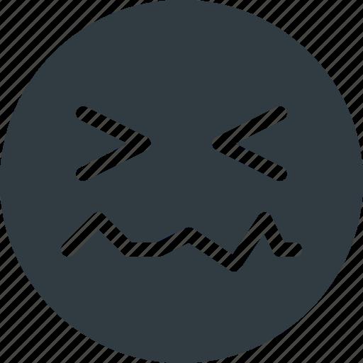 emoji, emote, emoticon, emoticons, in, pain icon
