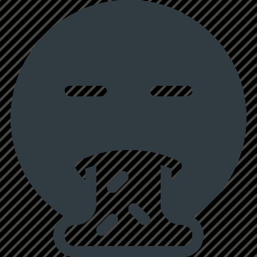 emoji, emote, emoticon, emoticons, puke icon