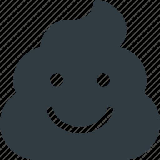 emoji, emote, emoticon, emoticons, poo, smiling icon