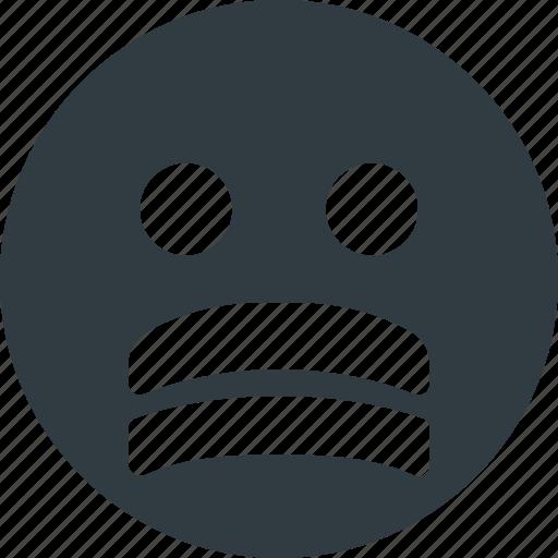 emoji, emote, emoticon, emoticons, stressed icon