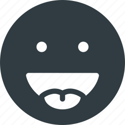 emoji, emote, emoticon, emoticons, stretch, tongue icon