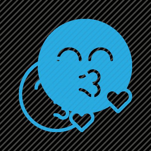 emoji, emote, emoticon, emoticons, kiss icon