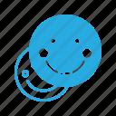 emoji, emote, emoticon, emoticons, shy icon