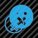 emoji, emote, emoticon, emoticons, silent icon