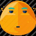 emoji, emotion, impatient, man icon