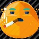 smoke, smoked, smoker, smoking icon