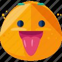 emoji, emoticon, out, tongue icon