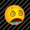 drooling, emoticon icon