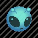alien, emoticon, et icon