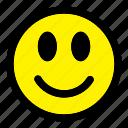 emoticon, emotion, expression, face, happy, smile, smiley
