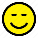 emoticon, emotion, expression, face, happy, smiley icon