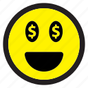 emoticon, emotion, expression, face, avatar, emoticons, happy icon