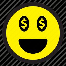 avatar, emoticon, emoticons, emotion, expression, face, happy, smile, smiley icon