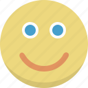 emoticon, emotion, face, happy, person, smile, smiley icon