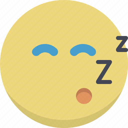 emoticon, emotion, expression, face, night, sleeping, smiley icon