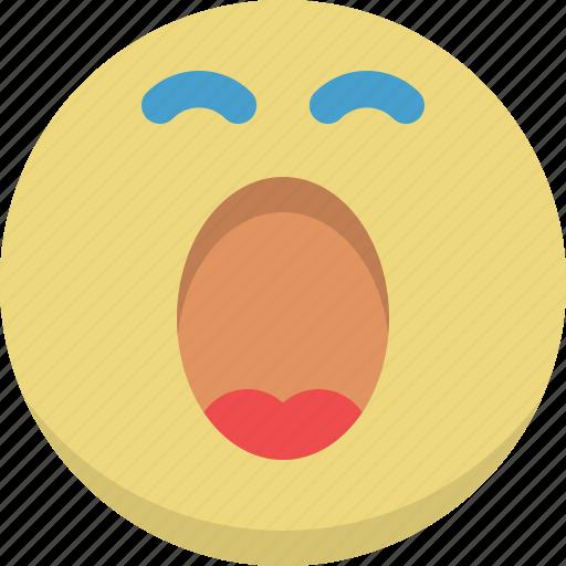 emoticon, emotion, sleep, sleepy, smiley, sweet dreams, yawn icon