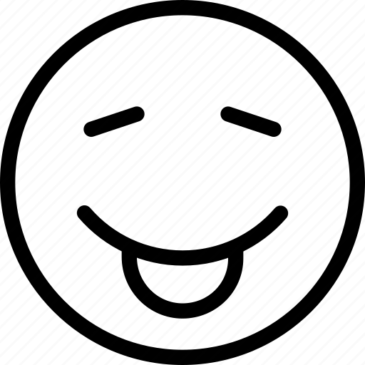 animation, chat, creative, email, emoticon, expression, facial, facial-expression, fun, grid, irritate, line, mail, make-fun, messages, mobile, round, shape, smile, smiley, stuck, tongue, tongue-out, web icon