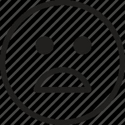 emoji, emoticons, emotion, expression, face, sign, smiley icon