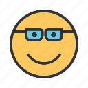 art, bubble, cartoon, cheerful, clip, funny, smug icon