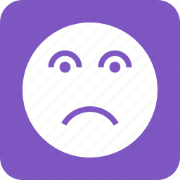 depression, disappointed, disappointment, frustration, sad, sadness, stress icon