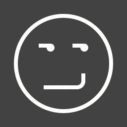 expression, happy, mood, smile, smiling, smirk, smirking icon