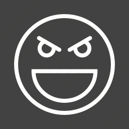 devil, evil, face, horror, mad, skull icon