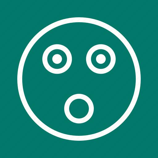 eyes, face, panic, shock, shocked, surprise, surprised icon