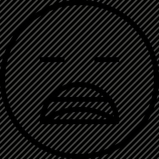 boring, emoji, emotion, face, status icon