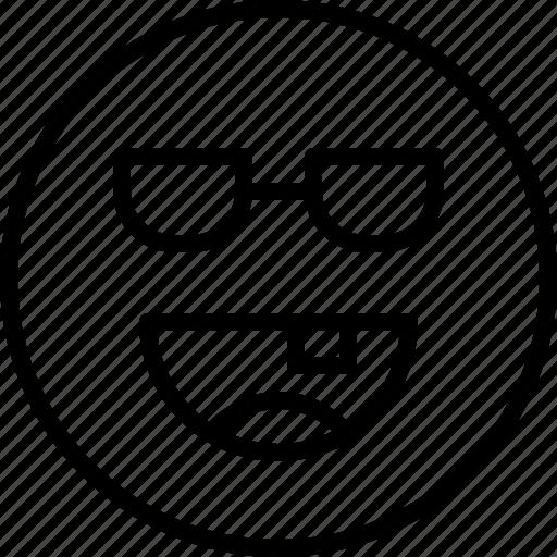 emoji, emotion, face, happy, status icon
