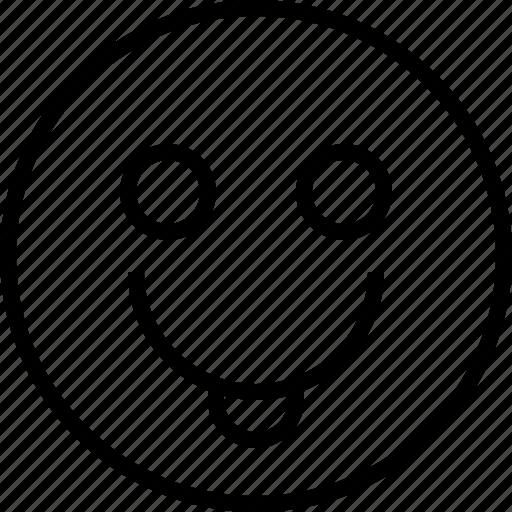 emoji, emotion, face, smile, status icon