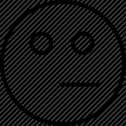 emoji, emotion, face, status, thinking icon