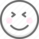 emotion, face, happy, hello, hi, smiley, welcome icon